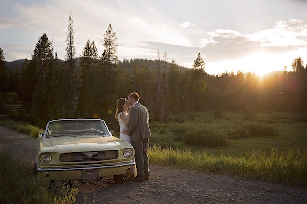 Wedding in the Sawtooth Mountains