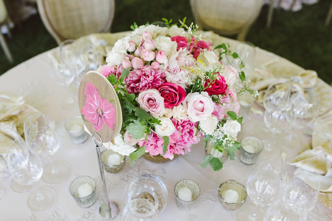 Wedding florals by Taylor'd Events